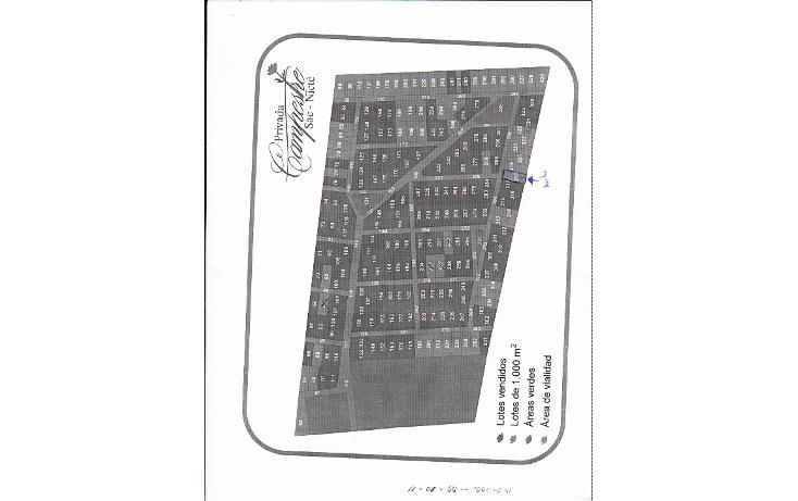 Foto de terreno habitacional en venta en  , chablekal, mérida, yucatán, 1861570 No. 01