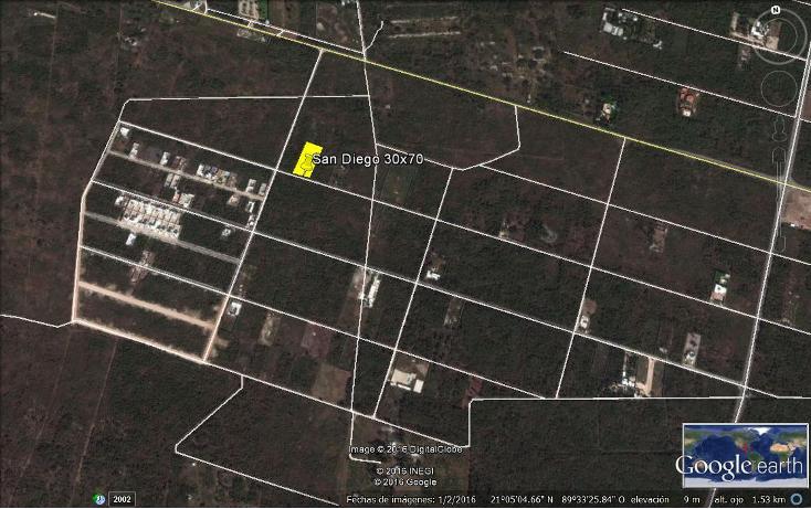 Foto de terreno habitacional en venta en  , chablekal, m?rida, yucat?n, 1908421 No. 01