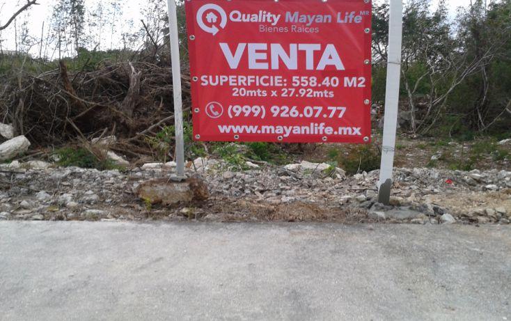 Foto de terreno habitacional en venta en, chablekal, mérida, yucatán, 2003462 no 02