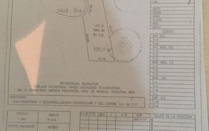 Foto de terreno habitacional en venta en, chablekal, mérida, yucatán, 2032188 no 01
