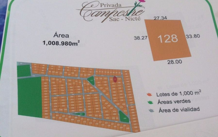 Foto de terreno habitacional en venta en  , chablekal, mérida, yucatán, 942487 No. 06