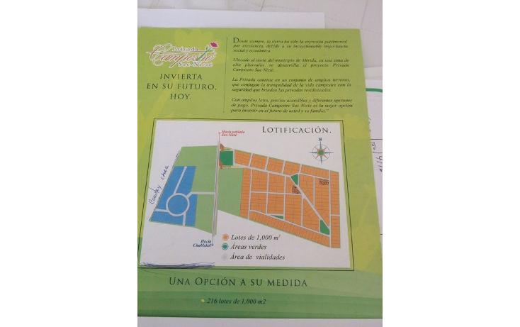Foto de terreno habitacional en venta en  , chablekal, mérida, yucatán, 942487 No. 07