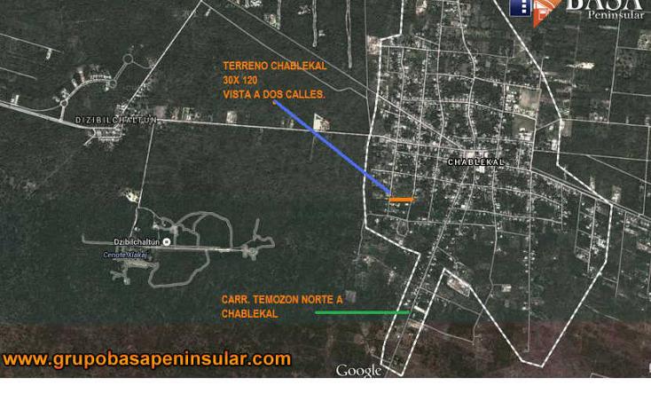 Foto de terreno habitacional en venta en  , chablekal, mérida, yucatán, 945411 No. 06