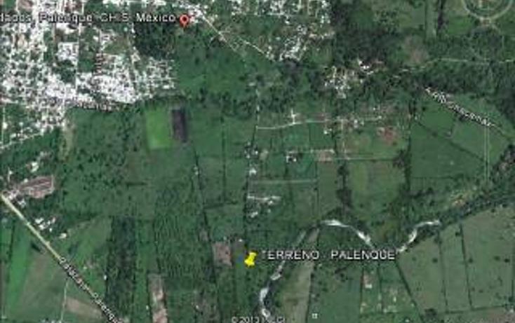 Foto de terreno habitacional en venta en  , chacamax, palenque, chiapas, 1715848 No. 01