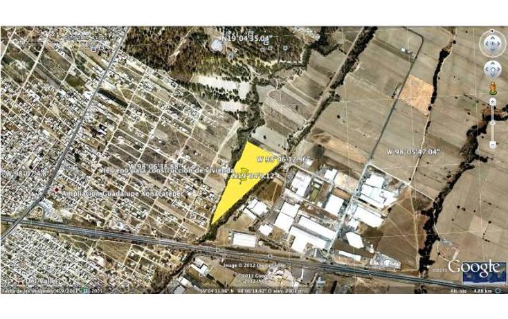 Foto de terreno industrial en venta en  , chachapa, amozoc, puebla, 1045433 No. 01
