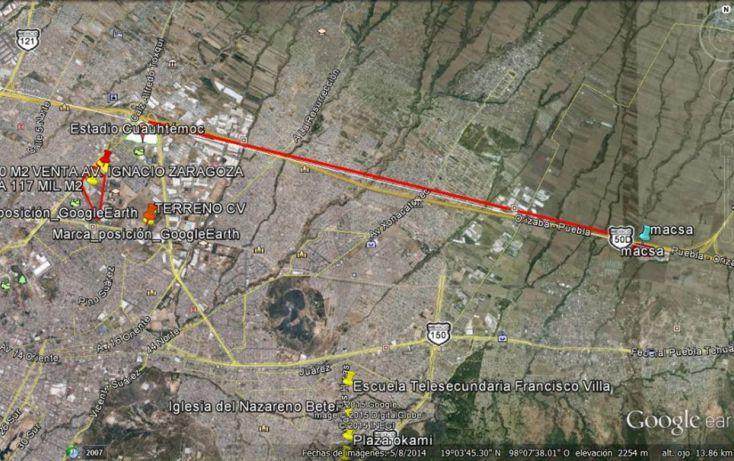 Foto de terreno comercial en venta en, chachapa, amozoc, puebla, 1225899 no 02