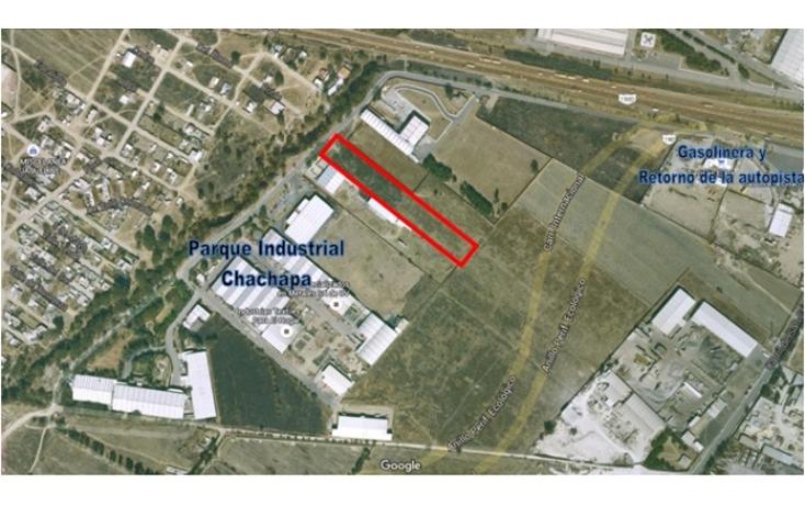 Foto de terreno industrial en venta en  , chachapa, amozoc, puebla, 1724708 No. 02