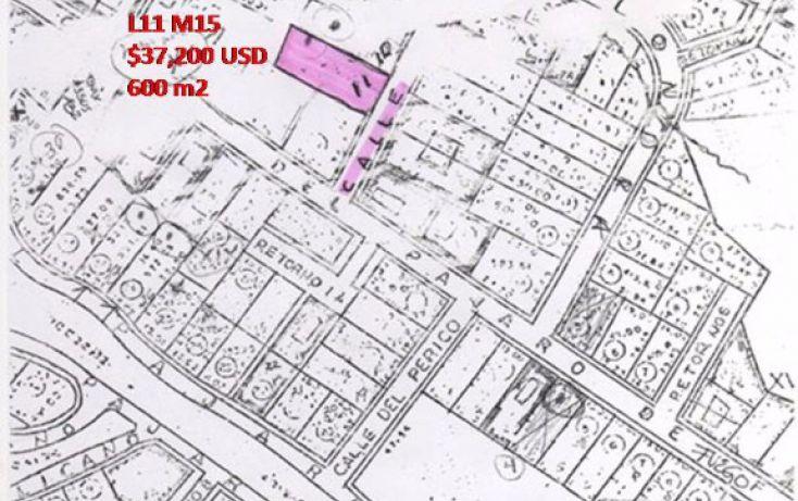 Foto de terreno habitacional en venta en chambergo lote 11 mza 15, chapala haciendas, chapala, jalisco, 1695274 no 01