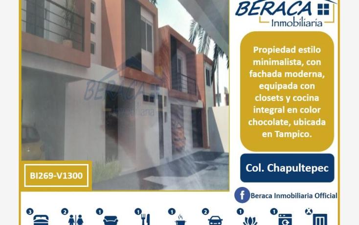 Foto de casa en venta en  , chapultepec, tampico, tamaulipas, 1795798 No. 01