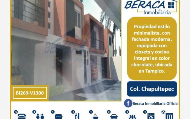 Foto de casa en venta en, chapultepec, tampico, tamaulipas, 1805882 no 01