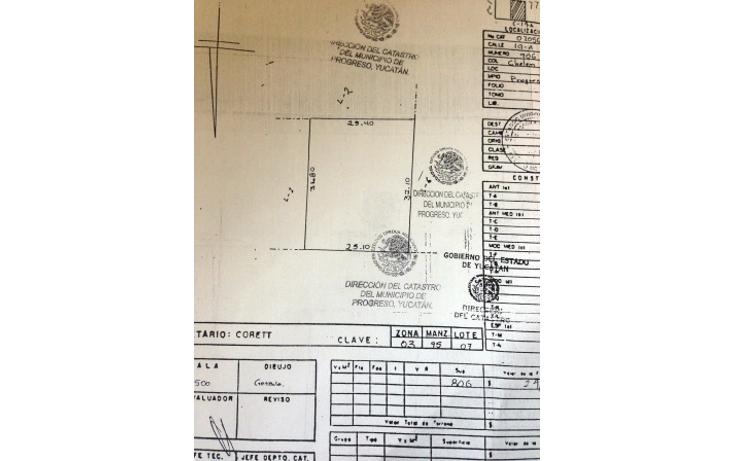 Foto de terreno habitacional en venta en  , chelem, progreso, yucat?n, 1182003 No. 01
