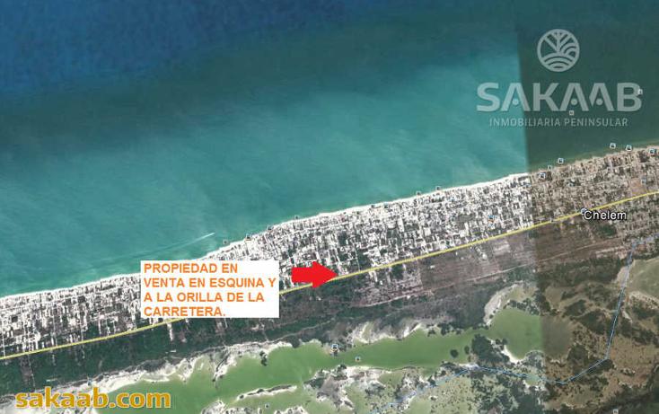 Foto de terreno comercial en venta en  , chelem, progreso, yucat?n, 2043454 No. 05