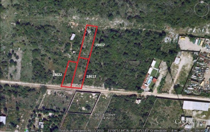Foto de terreno habitacional en venta en, chenku, mérida, yucatán, 1282947 no 02