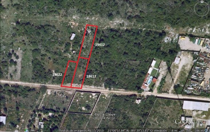 Foto de terreno habitacional en venta en  , chenku, m?rida, yucat?n, 1282947 No. 02