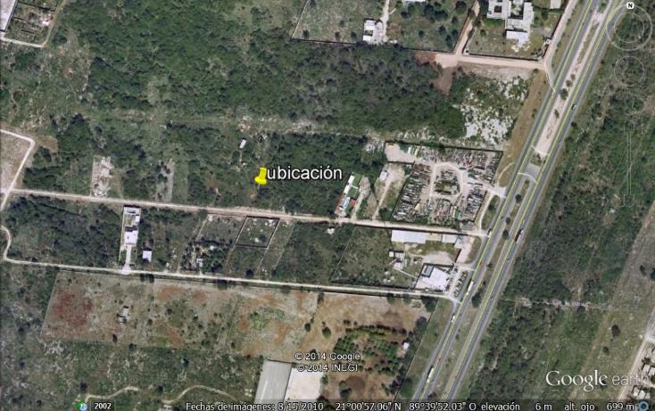 Foto de terreno habitacional en venta en  , chenku, m?rida, yucat?n, 1282947 No. 03