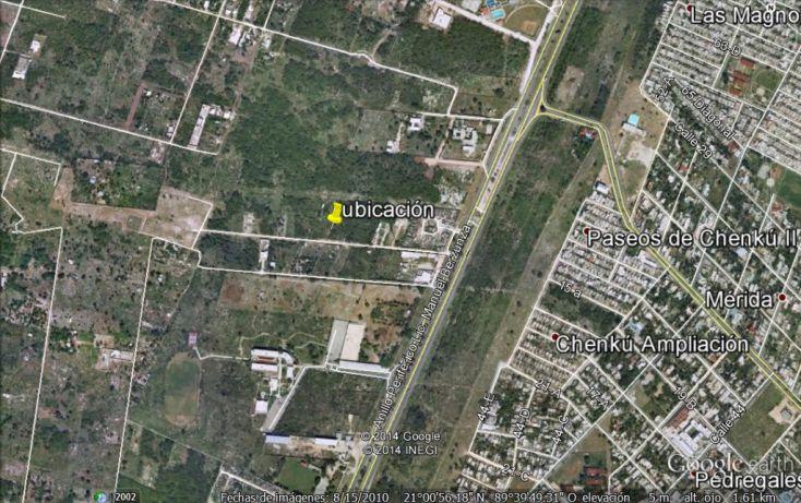 Foto de terreno habitacional en venta en, chenku, mérida, yucatán, 1282947 no 04