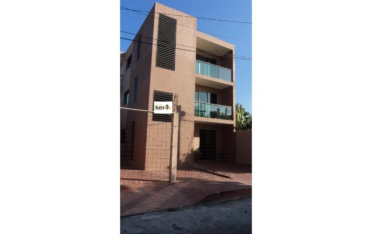 Foto de departamento en renta en  , chenku, mérida, yucatán, 949051 No. 01