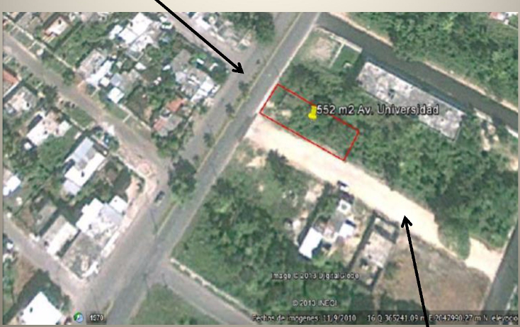 Foto de terreno habitacional en venta en  , chetumal centro, othón p. blanco, quintana roo, 1064177 No. 01