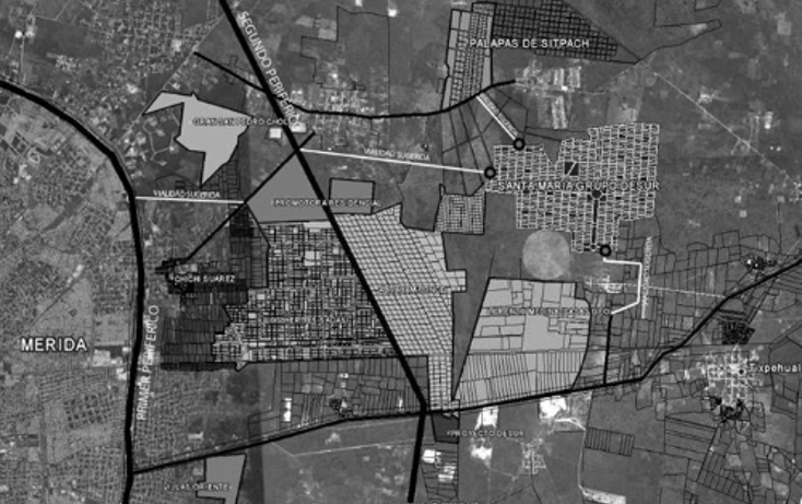 Foto de terreno habitacional en venta en  , chichi suárez, mérida, yucatán, 1054531 No. 01