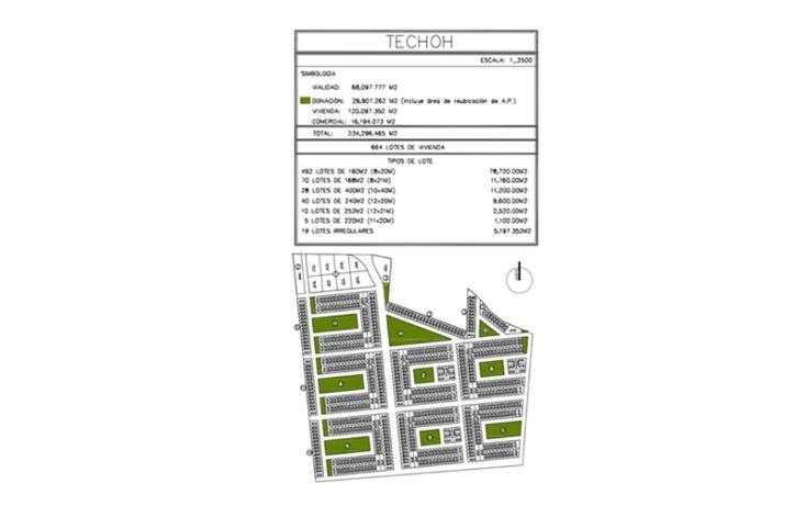 Foto de terreno habitacional en venta en  , chichi suárez, mérida, yucatán, 1054531 No. 02