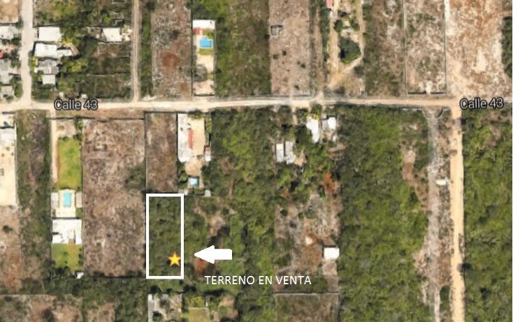 Foto de terreno habitacional en venta en, chichi suárez, mérida, yucatán, 1055407 no 01