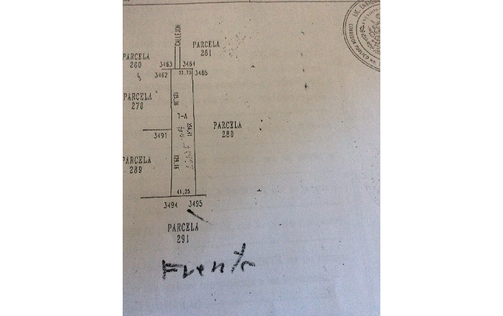 Foto de terreno comercial en venta en  , chichi su?rez, m?rida, yucat?n, 1126899 No. 01