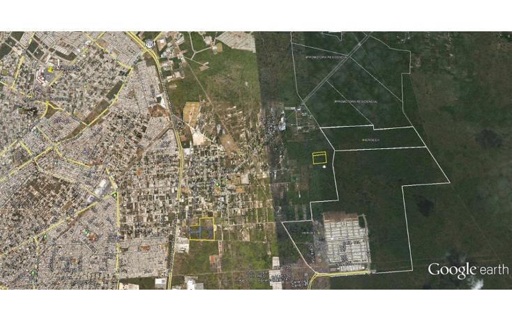 Foto de terreno habitacional en venta en  , chichi su?rez, m?rida, yucat?n, 1288061 No. 02