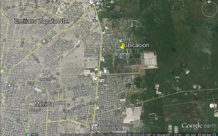 Foto de terreno habitacional en venta en  , chichi suárez, mérida, yucatán, 1290823 No. 03