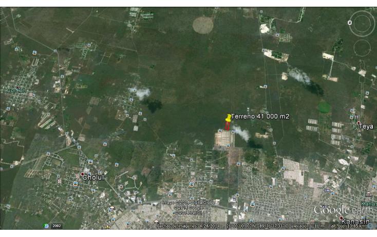 Foto de terreno habitacional en venta en  , chichi suárez, mérida, yucatán, 1297169 No. 03