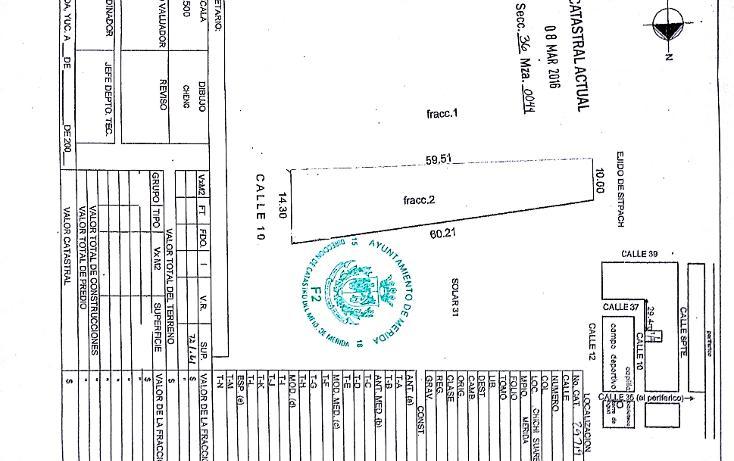 Foto de terreno habitacional en venta en  , chichi suárez, mérida, yucatán, 1323599 No. 08
