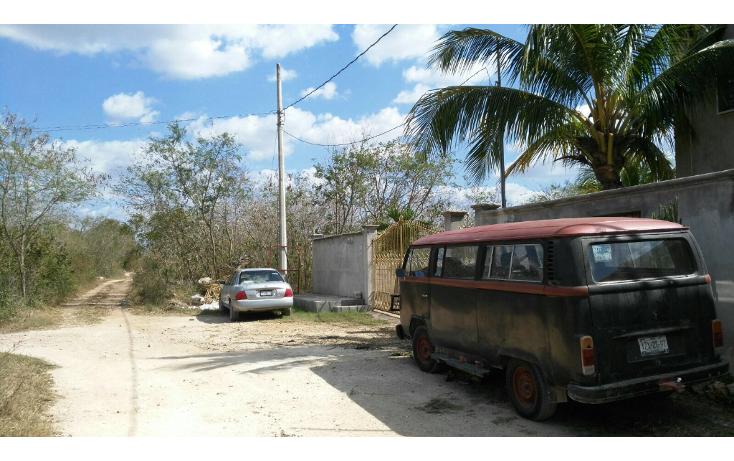 Foto de terreno habitacional en venta en  , chichi su?rez, m?rida, yucat?n, 1645264 No. 01