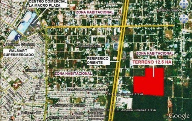 Foto de terreno habitacional en venta en, chichi suárez, mérida, yucatán, 1694480 no 02