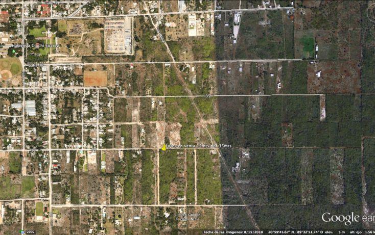 Foto de terreno habitacional en venta en, chichi suárez, mérida, yucatán, 2017240 no 01