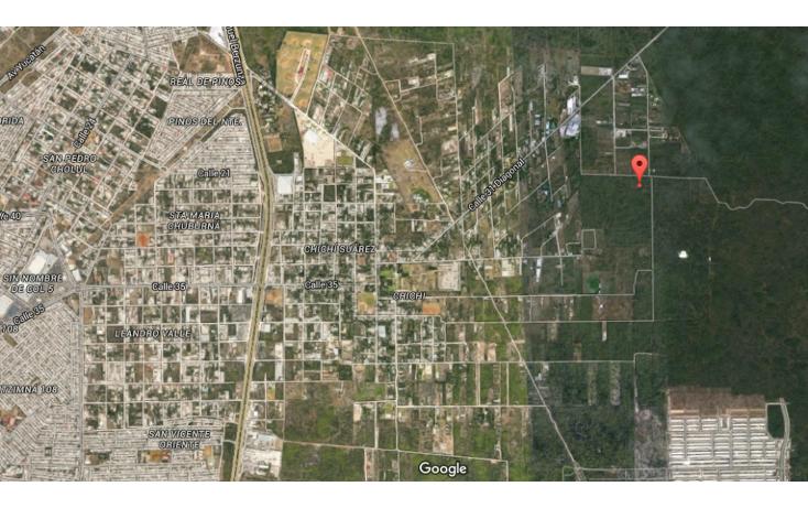 Foto de terreno habitacional en venta en  , chichi suárez, mérida, yucatán, 2030220 No. 02