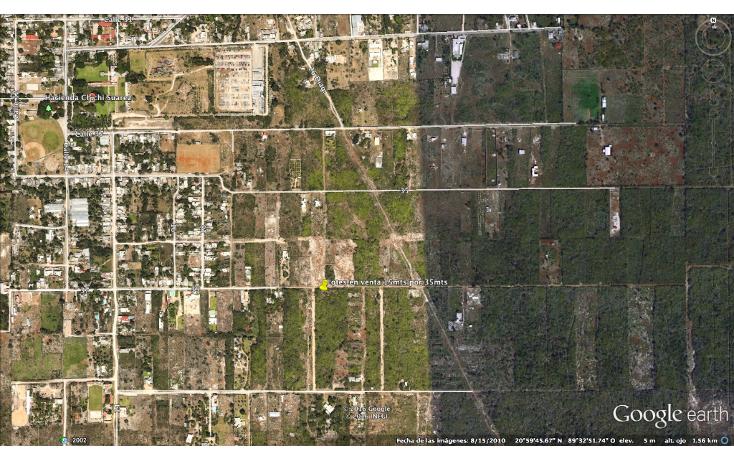 Foto de terreno habitacional en venta en  , chichi suárez, mérida, yucatán, 2035916 No. 05