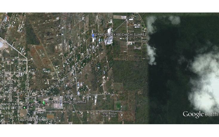 Foto de terreno habitacional en venta en  , chichi su?rez, m?rida, yucat?n, 941857 No. 02