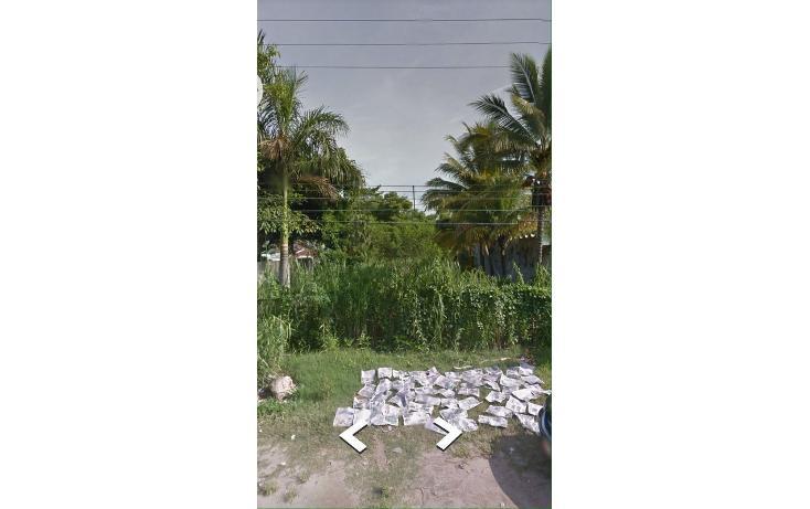 Foto de terreno habitacional en venta en  , chichicapa, comalcalco, tabasco, 1661011 No. 01