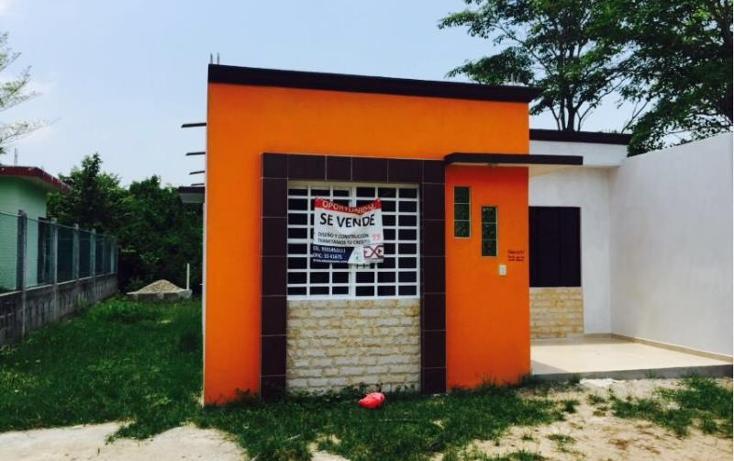Foto de casa en venta en  , chichicapa, comalcalco, tabasco, 1934802 No. 01