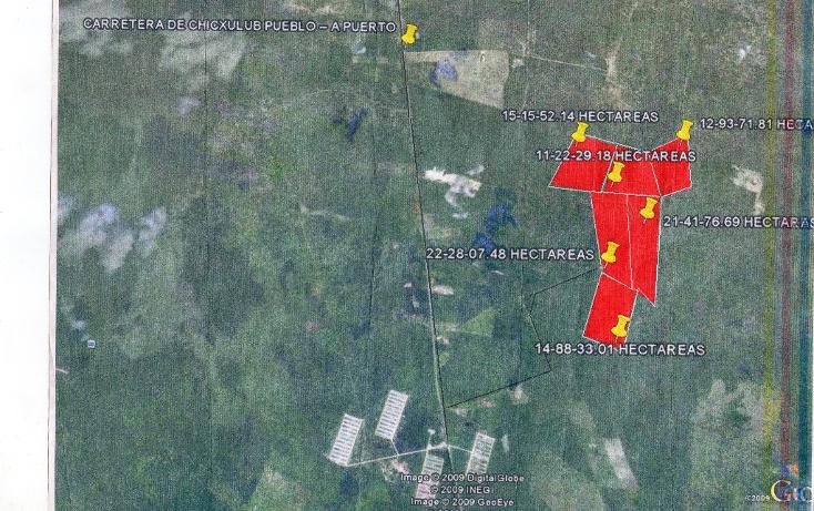 Foto de terreno habitacional en venta en  , chicxulub, chicxulub pueblo, yucatán, 1066545 No. 01