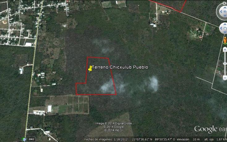 Foto de terreno habitacional en venta en  , chicxulub, chicxulub pueblo, yucatán, 1088323 No. 01