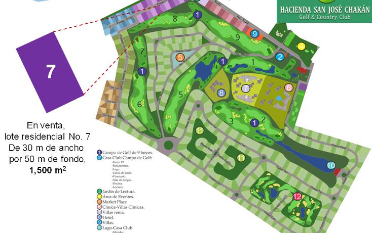 Foto de terreno habitacional en venta en  , chicxulub, chicxulub pueblo, yucatán, 1143883 No. 02