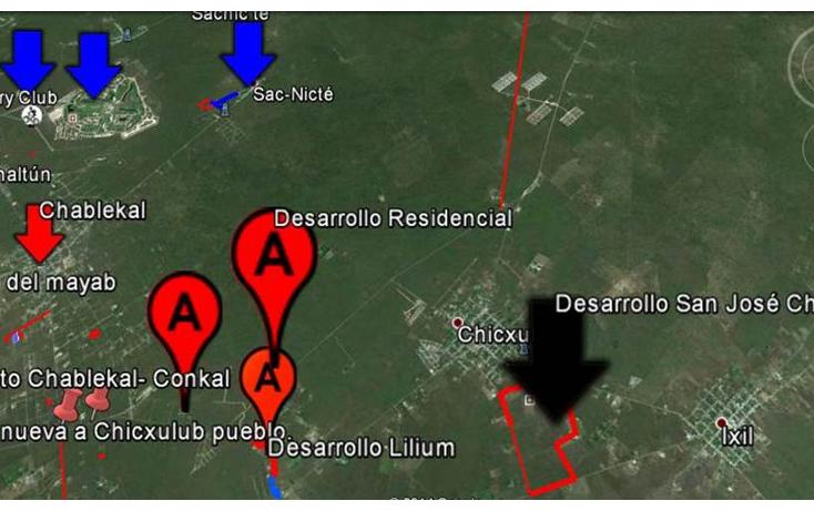 Foto de terreno habitacional en venta en  , chicxulub, chicxulub pueblo, yucatán, 1143883 No. 04