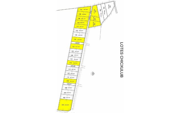 Foto de terreno habitacional en venta en  , chicxulub, chicxulub pueblo, yucatán, 1247097 No. 04