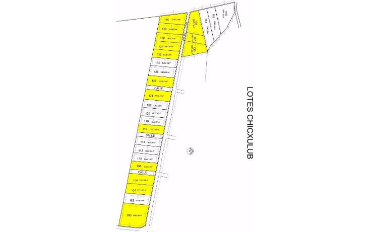 Foto de terreno habitacional en venta en  , chicxulub, chicxulub pueblo, yucatán, 1269491 No. 02