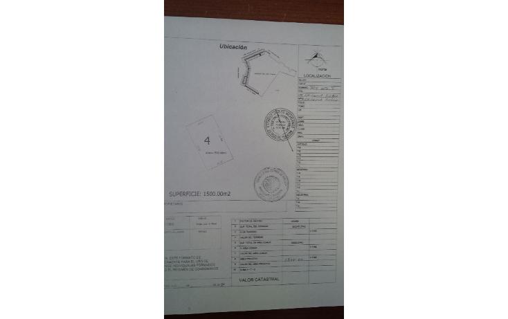 Foto de terreno habitacional en venta en  , chicxulub, chicxulub pueblo, yucatán, 1280219 No. 01