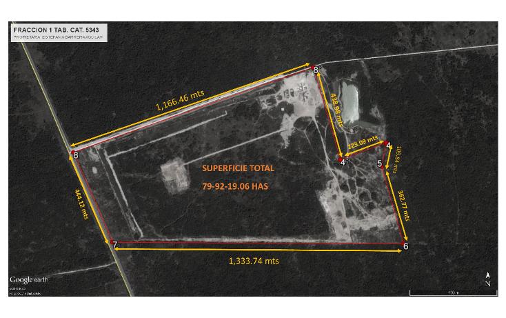Foto de terreno habitacional en venta en  , chicxulub, chicxulub pueblo, yucatán, 1296129 No. 02