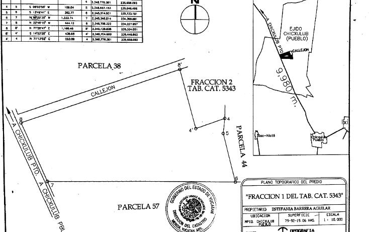 Foto de terreno habitacional en venta en  , chicxulub, chicxulub pueblo, yucatán, 1296129 No. 03