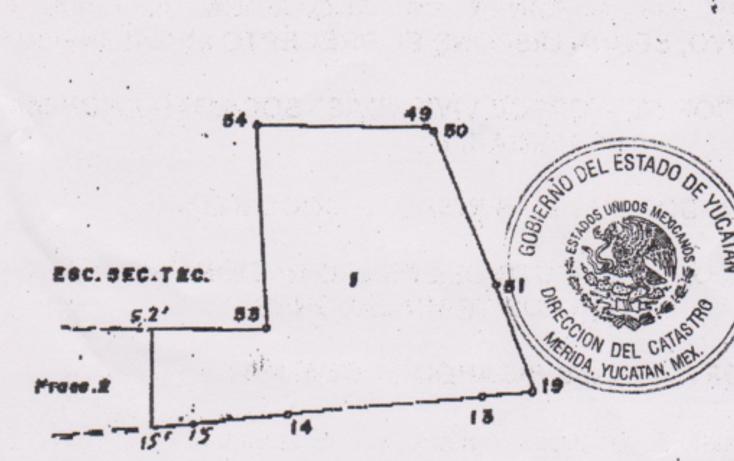Foto de terreno habitacional en venta en  , chicxulub, chicxulub pueblo, yucatán, 1441643 No. 01