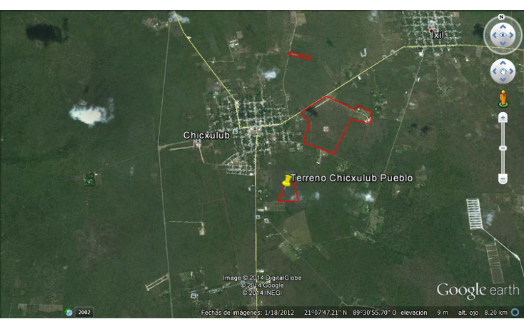 Foto de terreno habitacional en venta en  , chicxulub, chicxulub pueblo, yucatán, 1441643 No. 03
