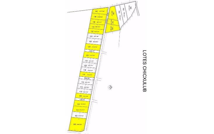 Foto de terreno habitacional en venta en  , chicxulub, chicxulub pueblo, yucatán, 1577772 No. 05